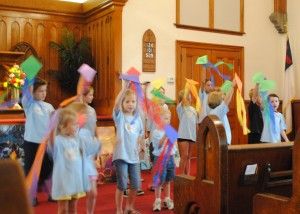 Our youth share their Vacation Bible School Songs